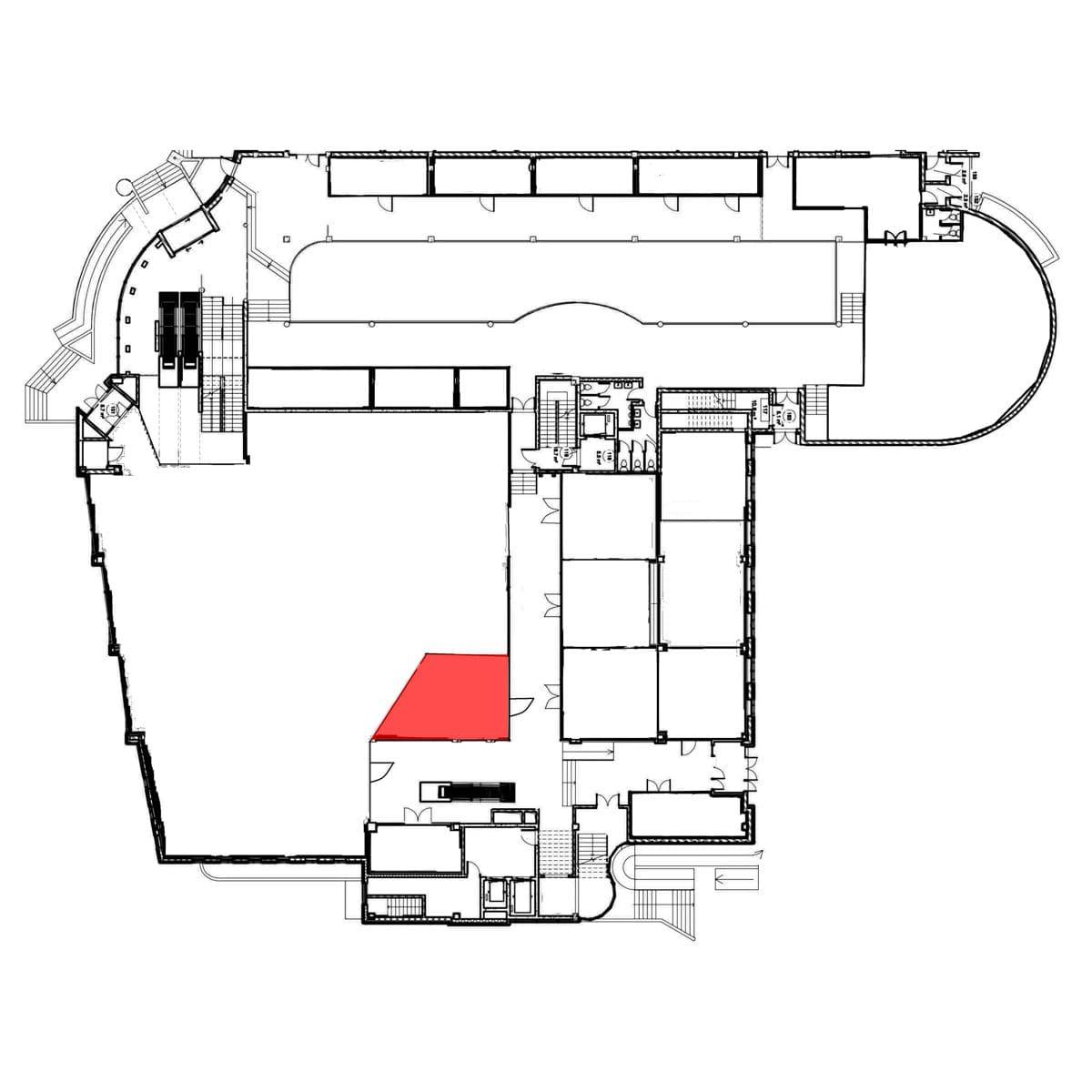 аренда помещения 1 этаж 45,8 м2