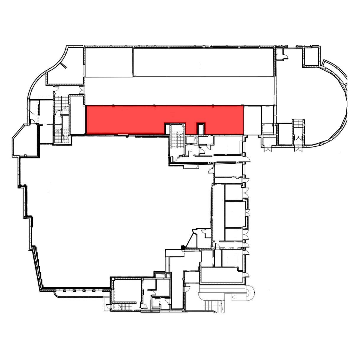 аренда помещения цокольный этаж 300 м2