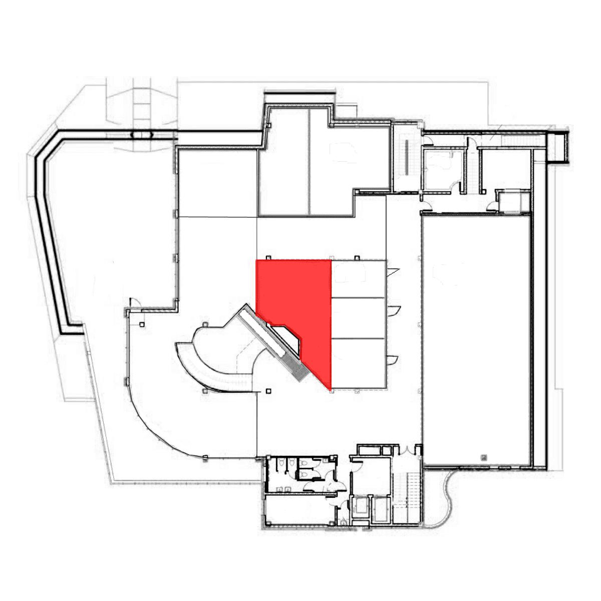 аренда помещения 5 этаж 50 м2