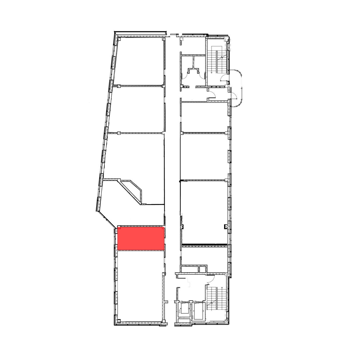 БЦ Галерея Тамбов аренда офиса 6 этаж 20м